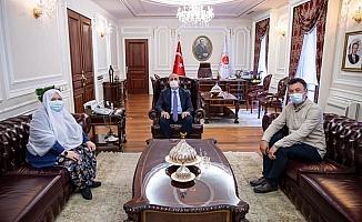 Adalet Bakanı Gül, Mihalgazi Belediye Başkanı Akgün'ü kabul etti
