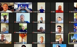 AK Parti Kayseri İl Başkanlığı çevrim içi bayramlaşma programı düzenledi