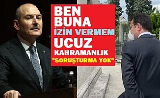Bakan Soylu'dan İmamoğlu açıklaması: Ben buna izin vermem!