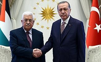Cumhurbaşkanı Erdoğan, Abbas ve Heniyye ile ayrı ayrı telefonda görüştü