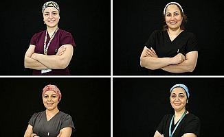 Kovid-19'la savaşan sağlıkçı anneler, evlatlarına doyasıya sarılamamanın burukluğunu yaşıyor
