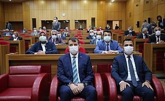 Sivas Valisi Ayhan, İl Genel Meclisi Toplantısı'nda İsrail'i kınadı