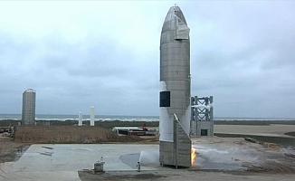 SpaceX'in Mars'a göndermeyi planladığı uzay mekiğinin prototipi SN15 başarılı şekilde yere indi