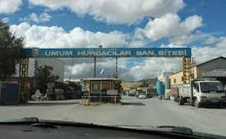 Ankara Hurdacılar Sanayi Sitesi'nin altyapısı yenileniyor