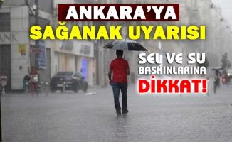 Ankara Valiliği'nden 'sağanak' uyarısı