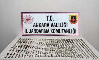 Ankara'da 718 parça tarihi eser ele geçirildi