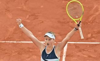 Barbora Krejcikova, Fransa Açık Tenis Turnuvası'nda şampiyon oldu