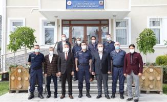 Başkan Demirbaş'dan Jandarma komutanlığına ziyaret