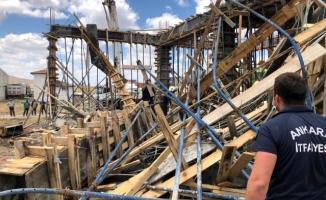 Başkent'te inşaatta göçük: 1 İşçi öldü