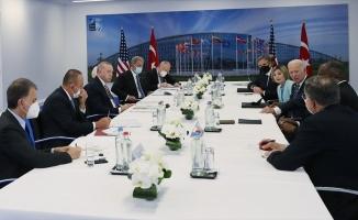 Biden'dan Erdoğan ile görüşmesi hakkında değerlendirme: Toplantımız hakkında iyi şeyler hissediyorum