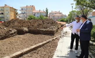 ÇUBUK - Ömürdede Kapalı Semt Pazar Yeri İnşaatı Başladı