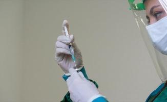 Türkiye'de nüfusun yaklaşık yüzde 25'ine birinci doz Kovid-19 aşısı uygulandı