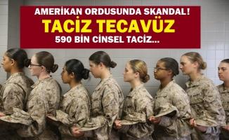 ABD ordusunda on binlerce taciz, tecavüz ve cinsel saldırılar