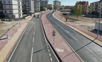 Celaleddin Karatay Caddesinin yapımı tamamlandı
