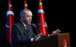 Erdoğan, 'Türkiye Gençlik Zirvesi' programına katıldı