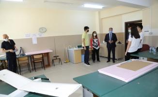 İçe Milli Eğitim Müdürü Kılıç, TEKNOFEST'e katılacak takımları ziyaret etti