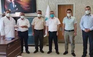Karapınar Merkez Sulama Kooperatifinden Karapınar Devlet Hastanesine destek