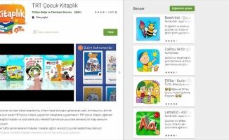TRT Çocuk Kitaplık uygulamasını 1 milyon kişi indirdi