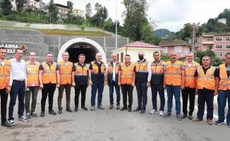 Ulaştırma ve Altyapı Bakanı Karaismailoğlu: İkizdere ve Salarha tünellerini önümüzdeki günlerde açmayı planlıyoruz