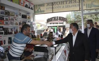AK Parti Sivas Milletvekili İsmet Yılmaz, Suşehri ilçesini ziyaret etti