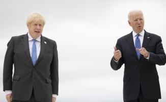 Biden ile İngiltere Başbakanı Johnson, Afganistan'daki son durumu görüştü