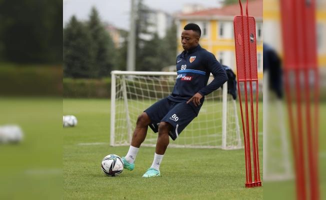 Kayserispor, Altay maçı hazırlıklarını sürdürdü