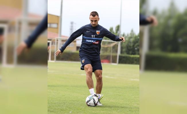 Kayserispor, Altay maçı hazırlıklarını tamamladı