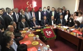 MHP Kayseri İl Başkanı Adnan İncetoprak, yönetimini tanıttı