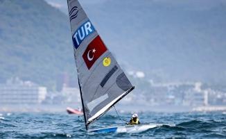 Milli yelkenci Alican Kaynar, Tokyo 2020'de bir ilki başardı
