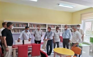 Şehit Okan Altıparmak Kütüphanesi'nin açılışı yapıldı