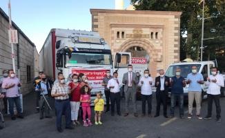 Ürgüp Belediyesinden Manavgat'a destek