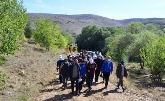 Avrupa Spor Haftası kapsamında Kırşehir'de doğa yürüyüşü yapıldı