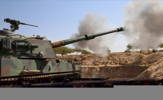 Barış Pınarı bölgesine ateş açan en az 9 PKK/YPG'li terörist etkisiz hale getirildi