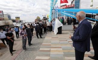 Başkan Yaşar, Yeni Başkent Oto Sanayi'de esnafla buluştu