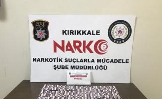 Kırıkkale'de 376 sentetik uyuşturucu hap ele geçirildi