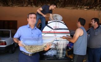 Konya'da göl ve göletlere balık takviyesi