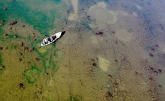 Suğla Gölü mevsimsel kuraklık nedeniyle zor günler yaşıyor