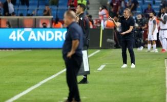 Trabzonspor Teknik Direktörü Avcı: Oyun olarak memnun, skor olarak memnun değilim