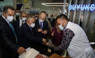 Başkan Büyükkılıç, Gaziantep'te fuara katıldı