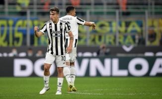 Juventus, Inter karşısında beraberliği son dakikalarda kurtardı