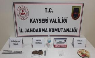 Kayseri'de uyuşturucu operasyonunda bir şüpheli yakalandı