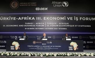 Ticaret Bakanı Muş: Türkiye geçmişte olduğu gibi gelecekte de Afrikalı dostlarının yanında olacak