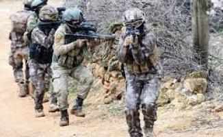 TSK yürüttüğü operasyonla eylem hazırlığındaki 2 teröristi öldürüldü