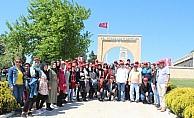 Sarıkayalı kitap kurtları, Çanakkale ve Bursa'yı gezdi