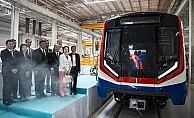 Türkiye'nin ilk metro ihracatı için tören