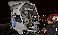 Aksarayda zincirleme trafik kazası: 2 yaralı