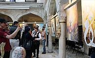İstanbul'da 'Gökkuşağı' sergisi açıldı