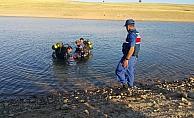 Aksaray'da sulama göletine giren genç boğuldu