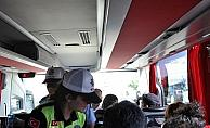 Kırıkkale'de yol kenarındaki tezgahlar kaldırıldı