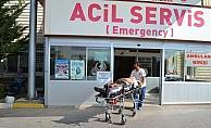 Aksaray'da otomobil şarampole devrildi: 7 yaralı